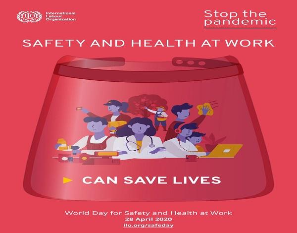 28 de abril - Dia Mundia da segurança e saúde no trabalho