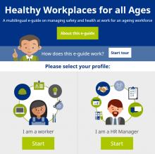 Consulte o guia eletrónico sobre a gestão idade no trabalho