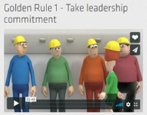 Napo promove as regras de ouro da segurança e saúde no local de trabalho