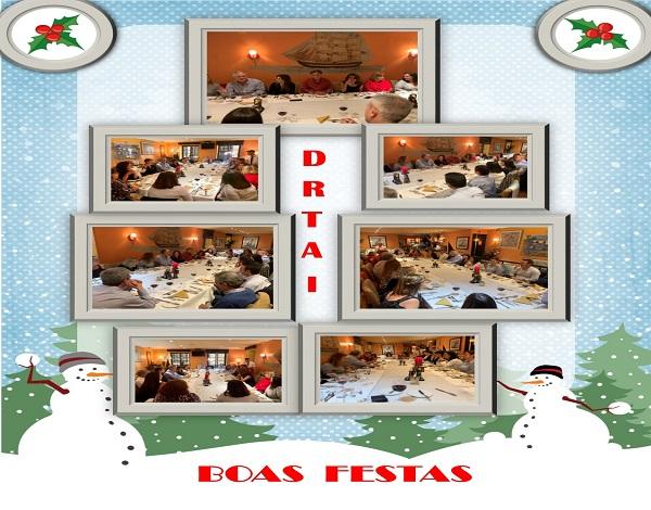 Jantar de Natal da equipa da DRTAI