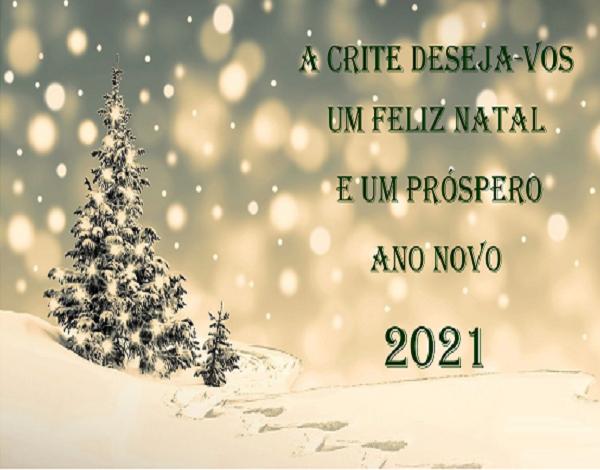 Feliz Natal e um Próspero Ano Novo de 2021!