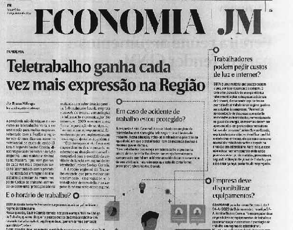 Teletrabalho ganha cada vez mais expressão na Região Autónoma da Madeira