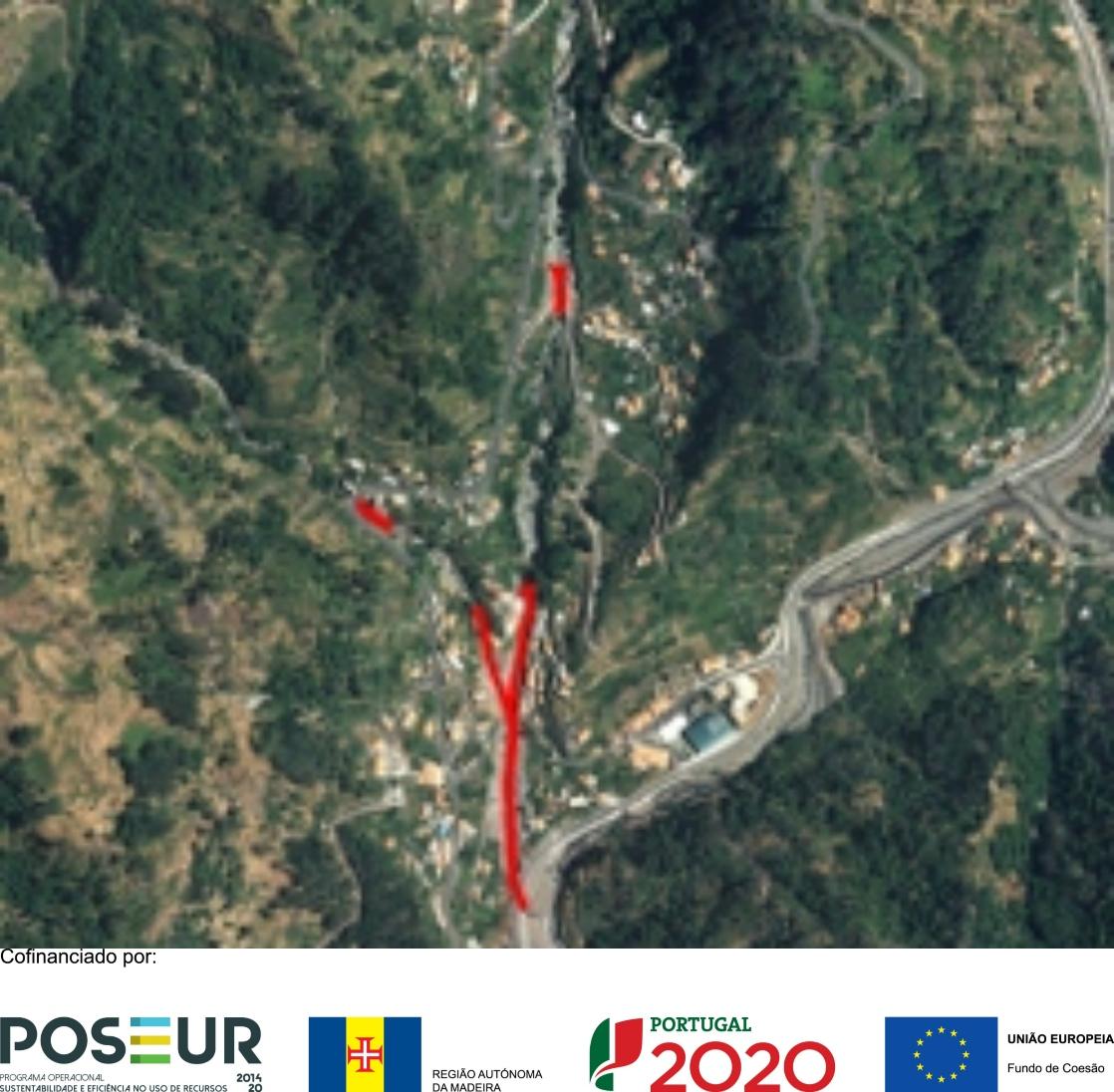 POSEUR-02-1810-FC-000001 - Regularização e Canalização Ribeiras Fajã das Éguas, Pereira e Eirinha - Serra d'Água