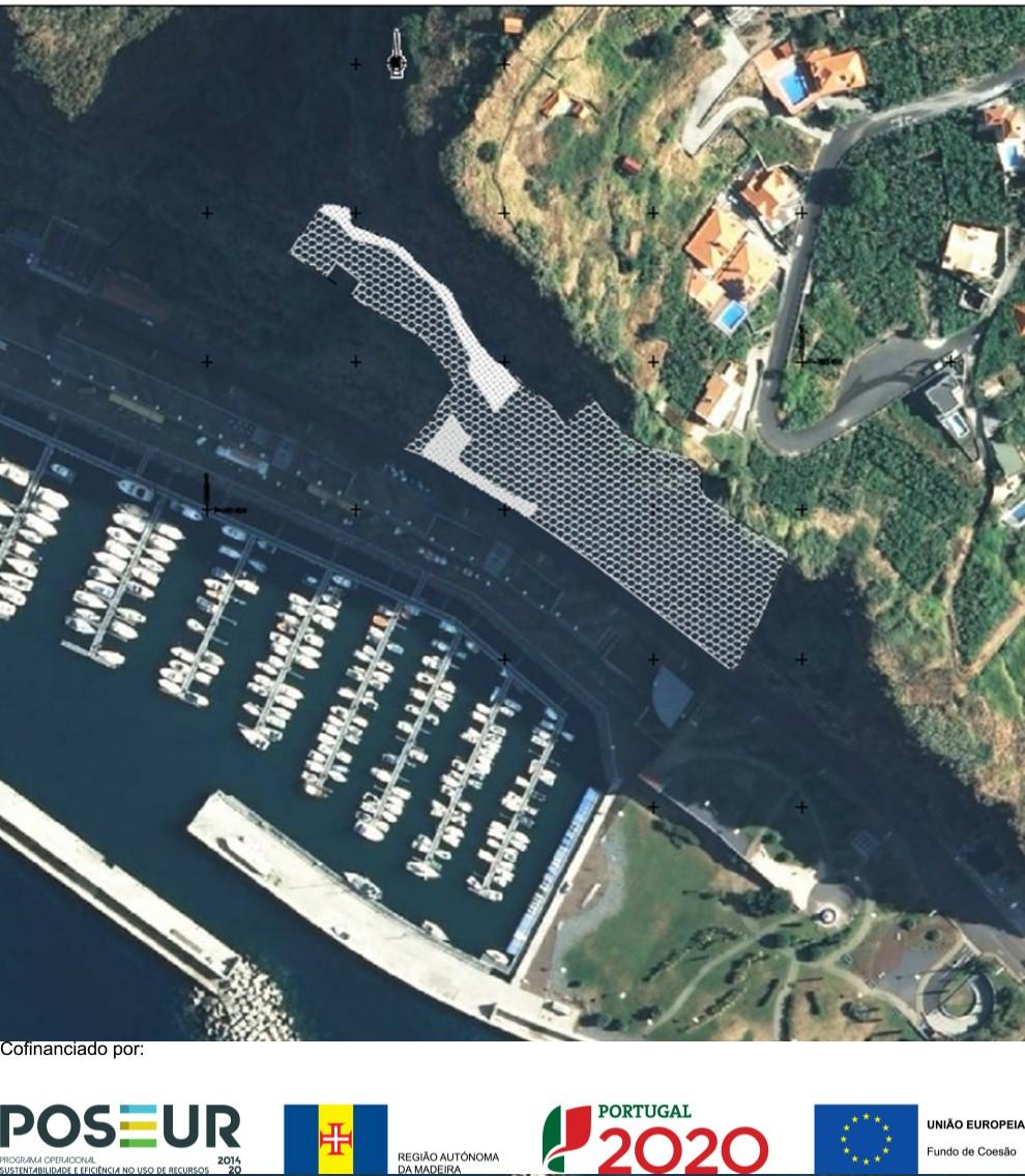 POSEUR-02-1810-FC-000419 - Reforço das Estruturas de Contenção do Talude Sobranceiro ao Porto de Recreio da Calheta
