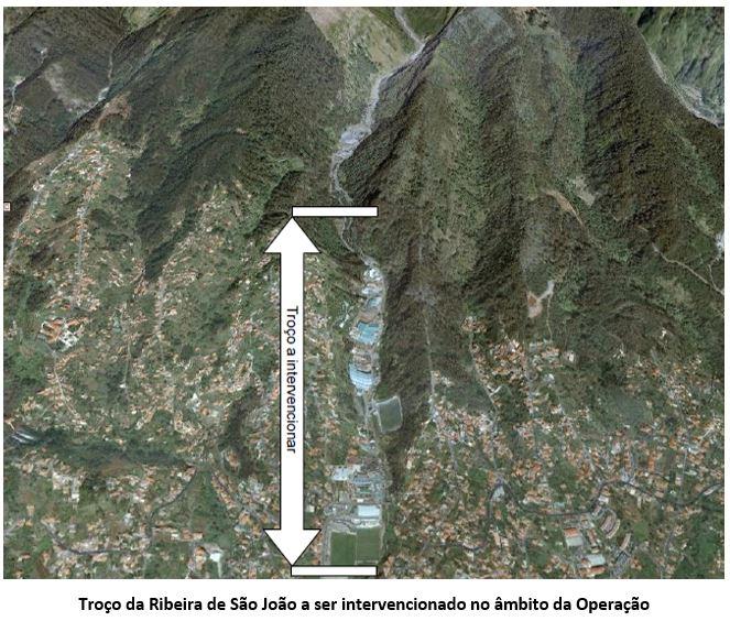 POSEUR-02-1810-FC-000471 - Reabilitação e Regularização da Ribeira de São João - Troço Urbano (Setores 1 a 4)