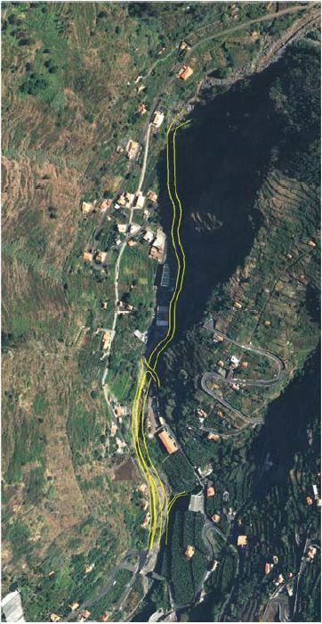 POSEUR-02-1810-FC-000522 – Consolidação de Estruturas de Contenção de Taludes e Intervenção nos Troços de Ribeiras – Ribeira da Tabua (RAM)