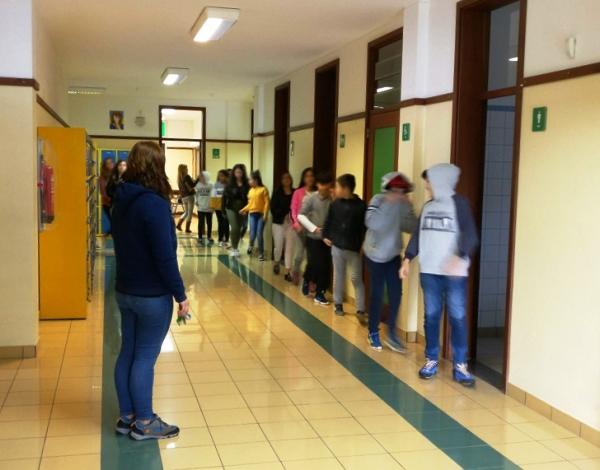 Exercício de Evacuação na EB23 Cónego João J. G. de Andrade