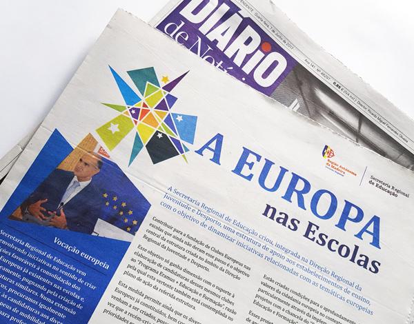 A Europa nas Escolas
