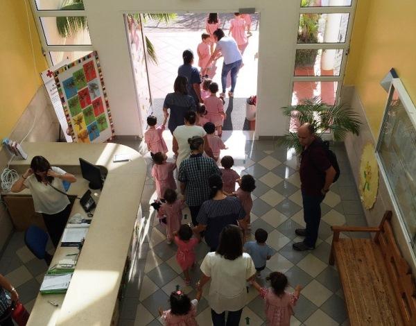Escola Dona Olga de Brito testou procedimentos de Emergência