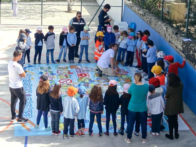 Escolas do Porto Santo sensibilizadas para os riscos