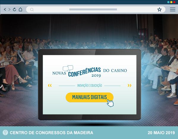 Novas Conferências do Casino com sessão de 2019 em vídeo
