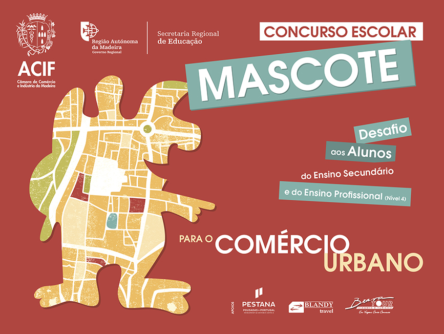 """Concurso Escolar """"Mascote para o Comércio Urbano"""""""