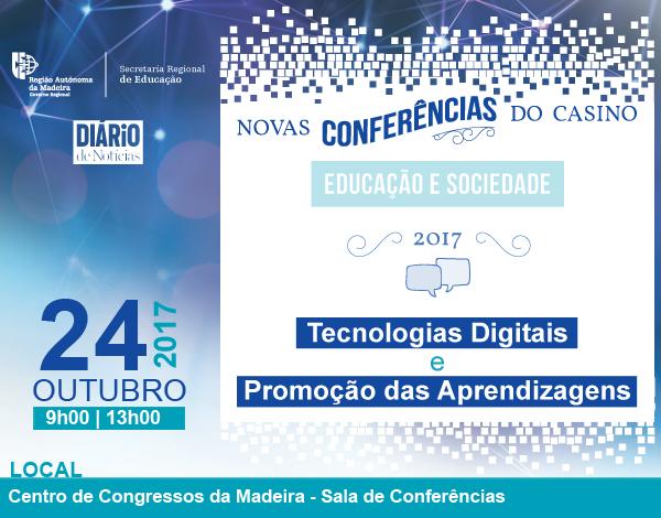 Novas Conferências do Casino em 2017 – 'Tecnologias Digitais'