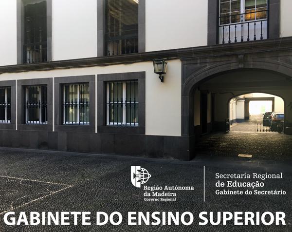 Novas instalações do Gabinete do Ensino Superior