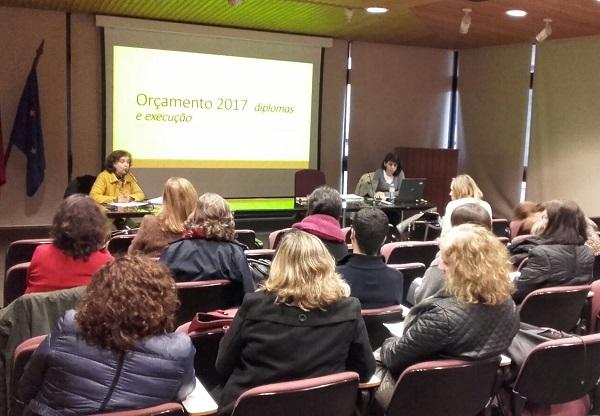 """Ação de Formação """"Orçamento 2017 – Diplomas e Execução"""""""