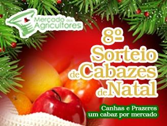 8.º Sorteio de Cabazes de Natal no Mercado dos Agricultores