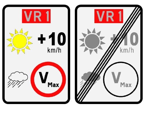 Novos sinais de trânsito nas Vias Rápidas e Vias Expresso permitem a circulação a mais 10 km/h, desde que verificadas determinadas condições