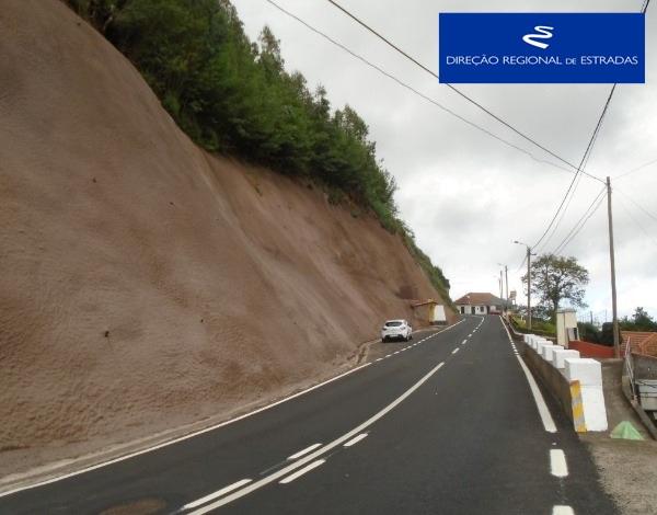 """Empreitada de """"Reconstrução da ER 102 - Camacha / Santo António da Serra"""""""