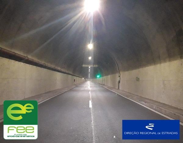 """Empreitada de """"Melhoria da Eficiência Energética dos Túneis da Rede Viária Regional"""""""