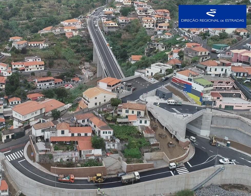 """Empreitada de Construção da """"Nova Ligação Vasco Gil / Fundoa, à Cota 500 - 1.ª Fase"""""""