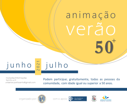 Animação Verão 50+