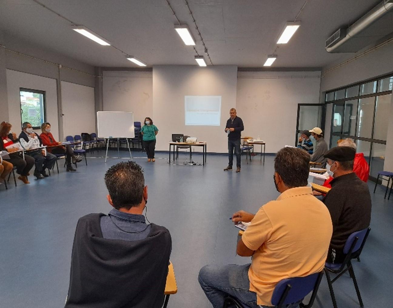 """Ação de formação: """"Relações Interpessoais – estratégia para lidar com os outros"""""""