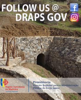 Intervenção da DRAPS no túnel da Capela da Graça (foto: ©jan) - Mupi