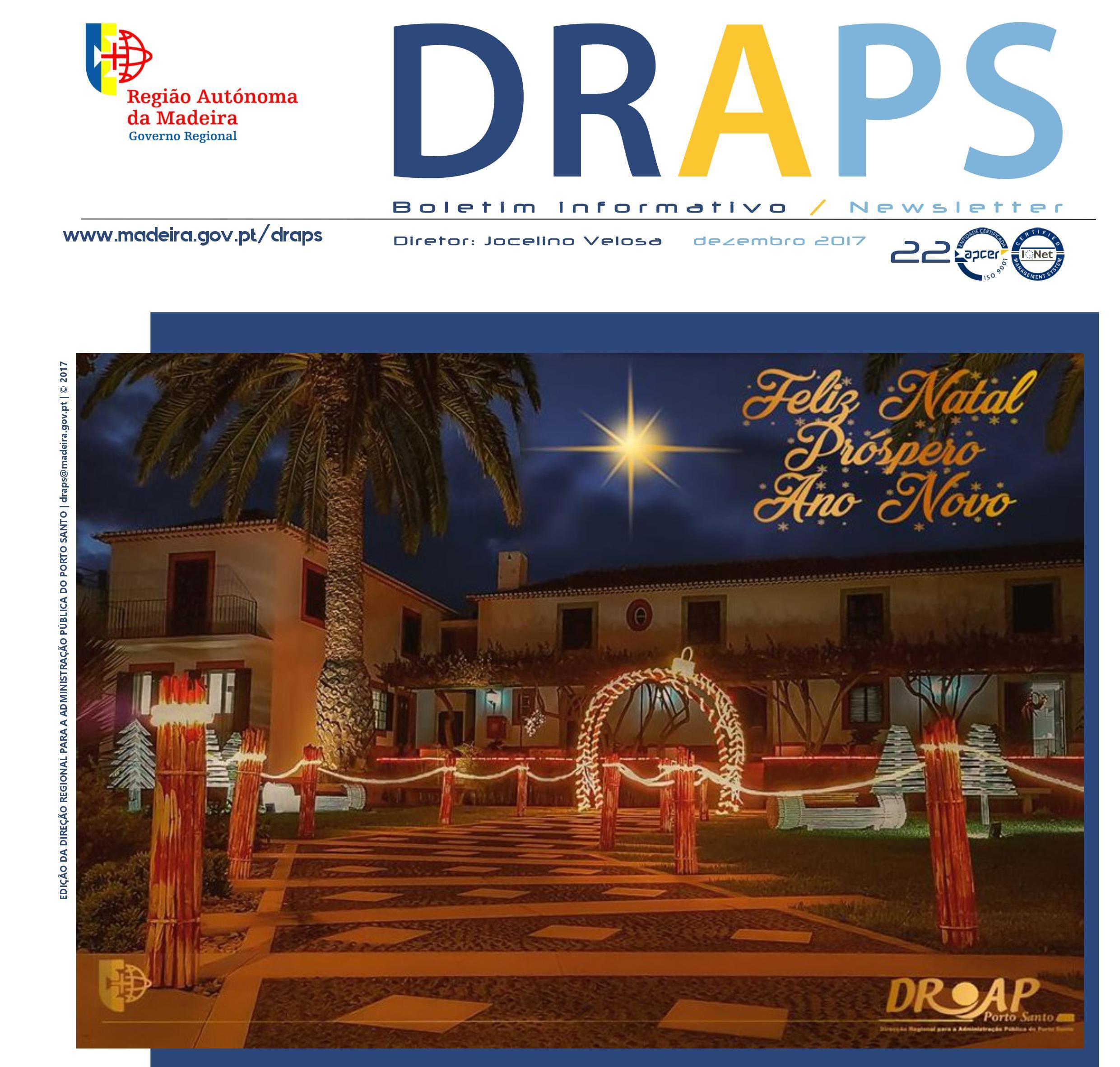 Boletim Informativo / Newsletter n.º 22 - especial Natal 2017