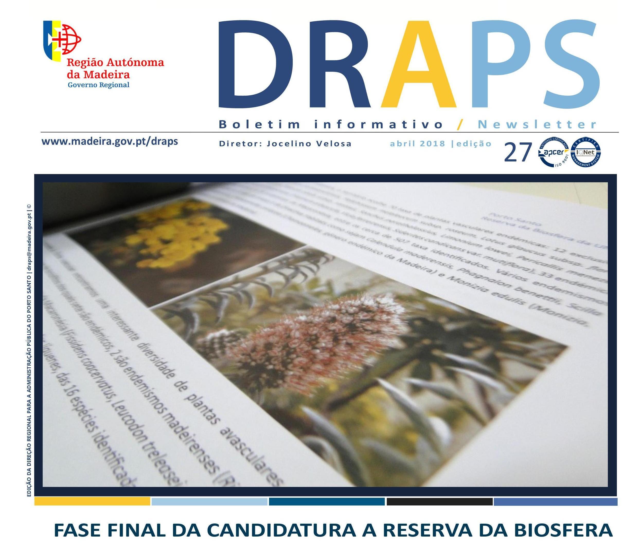 Boletim Informativo / Newsletter n.º 27