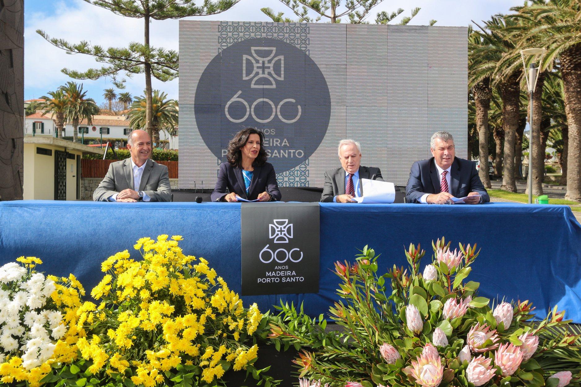 Programa Oficial dos 600 Anos apresentado no Porto Santo