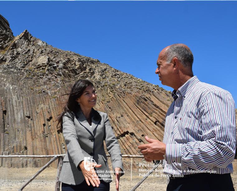 Aplicação móvel GeoD e novo Roteiro da Geodiversidade divulgam património do Porto Santo