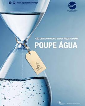 ARM promove campanha de sensibilização para a Poupança de Água mupi