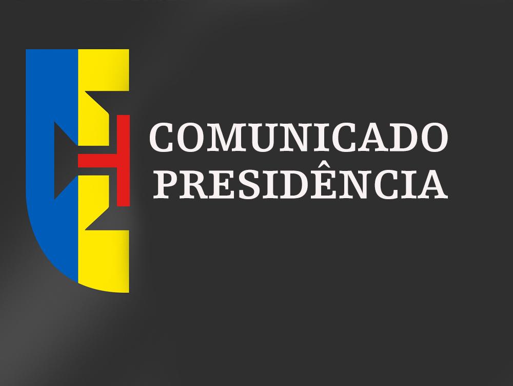 Comunicado Governo Regional da Madeira