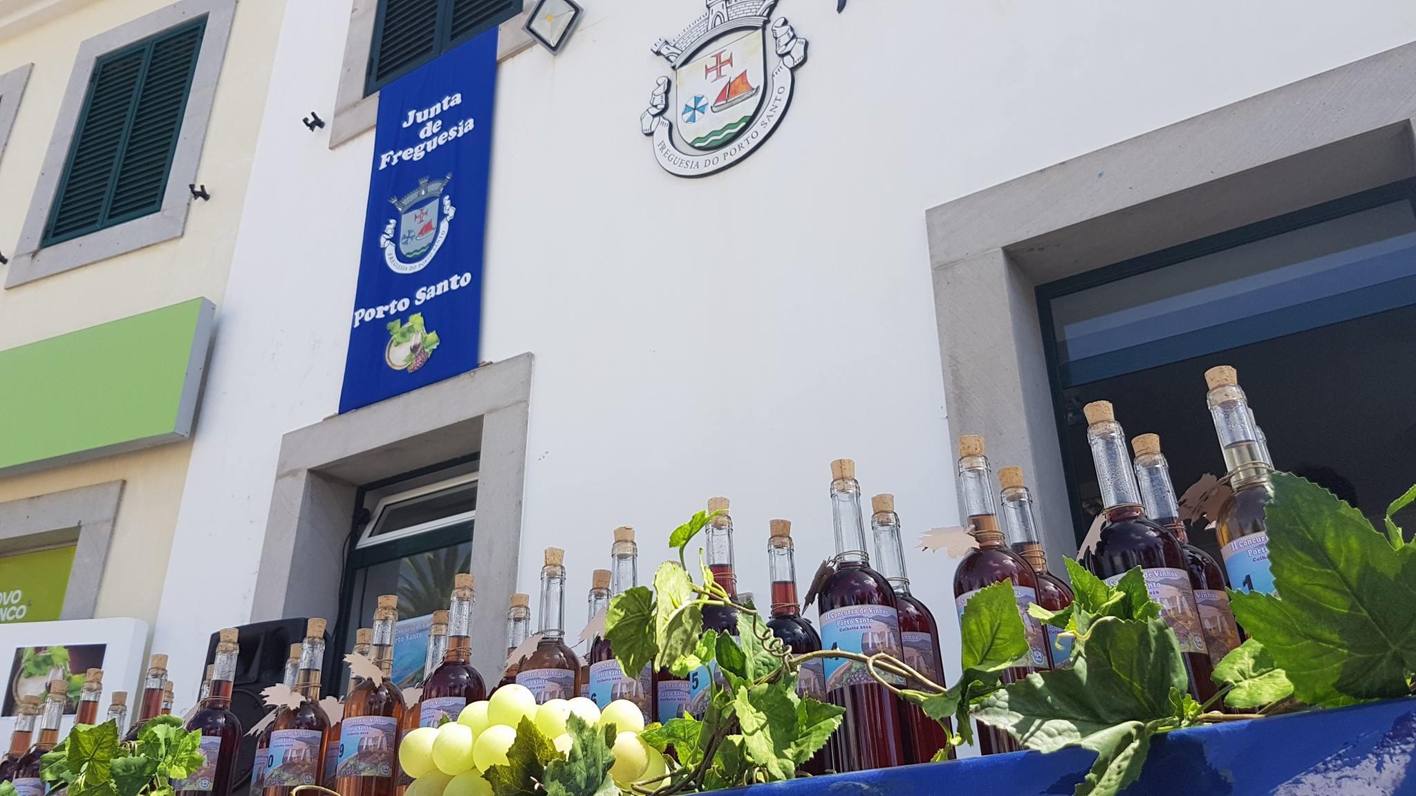 II Concurso de Vinhos do Porto Santo.
