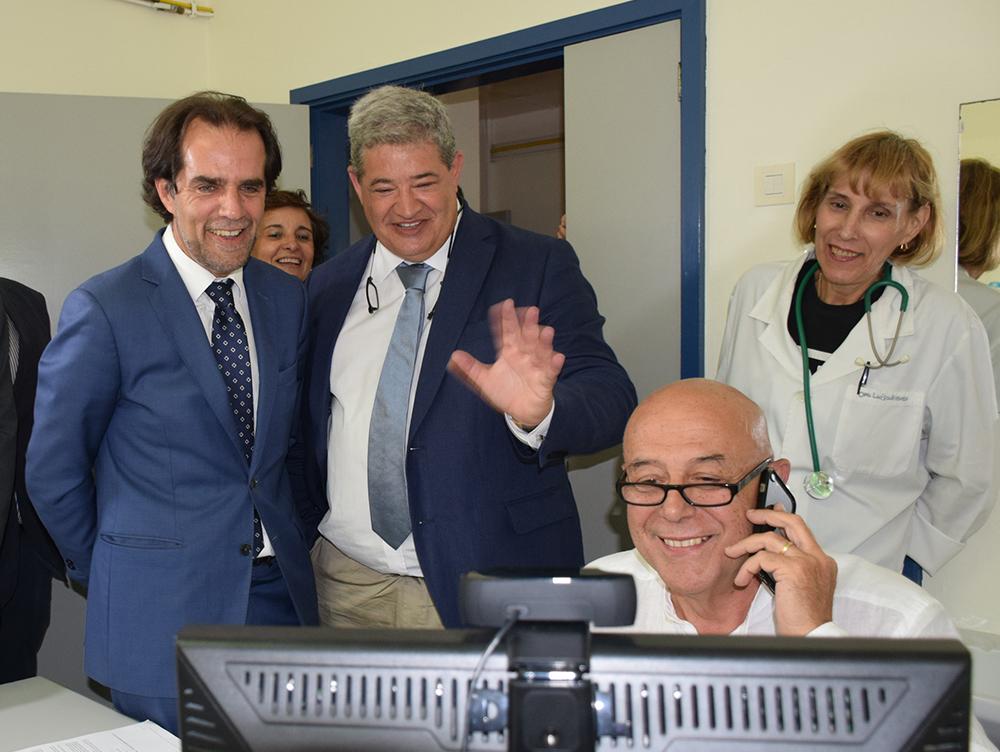 Telemedicina, teleurgência e cuidados paliativos implementados no Porto Santo