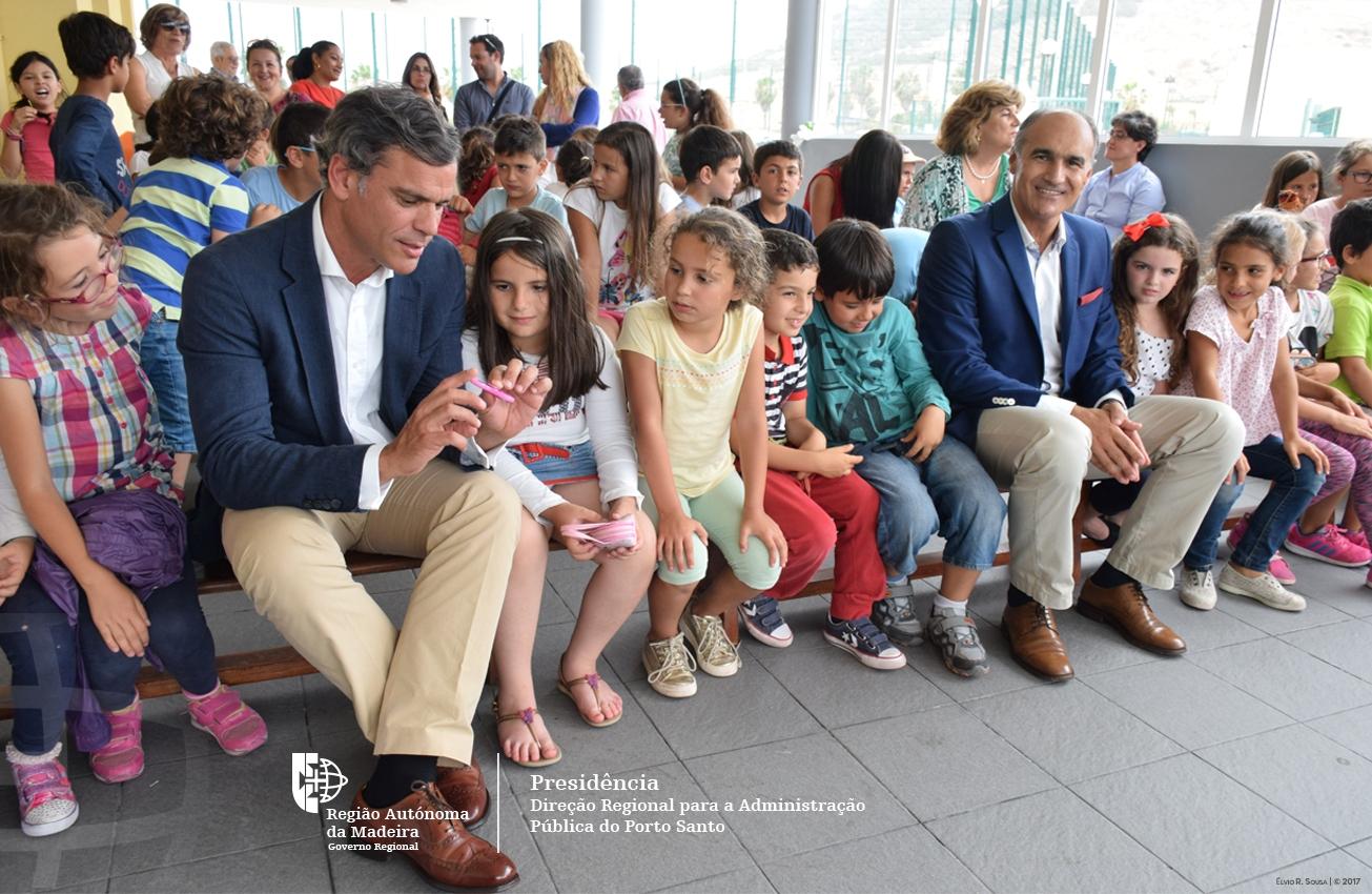 Turismo chegou às Escolas do Porto Santo