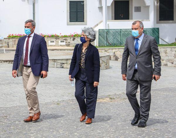 Visita da Ministra da Cultura e do Secretário Regional do Turismo e Cultura ao Porto Santo