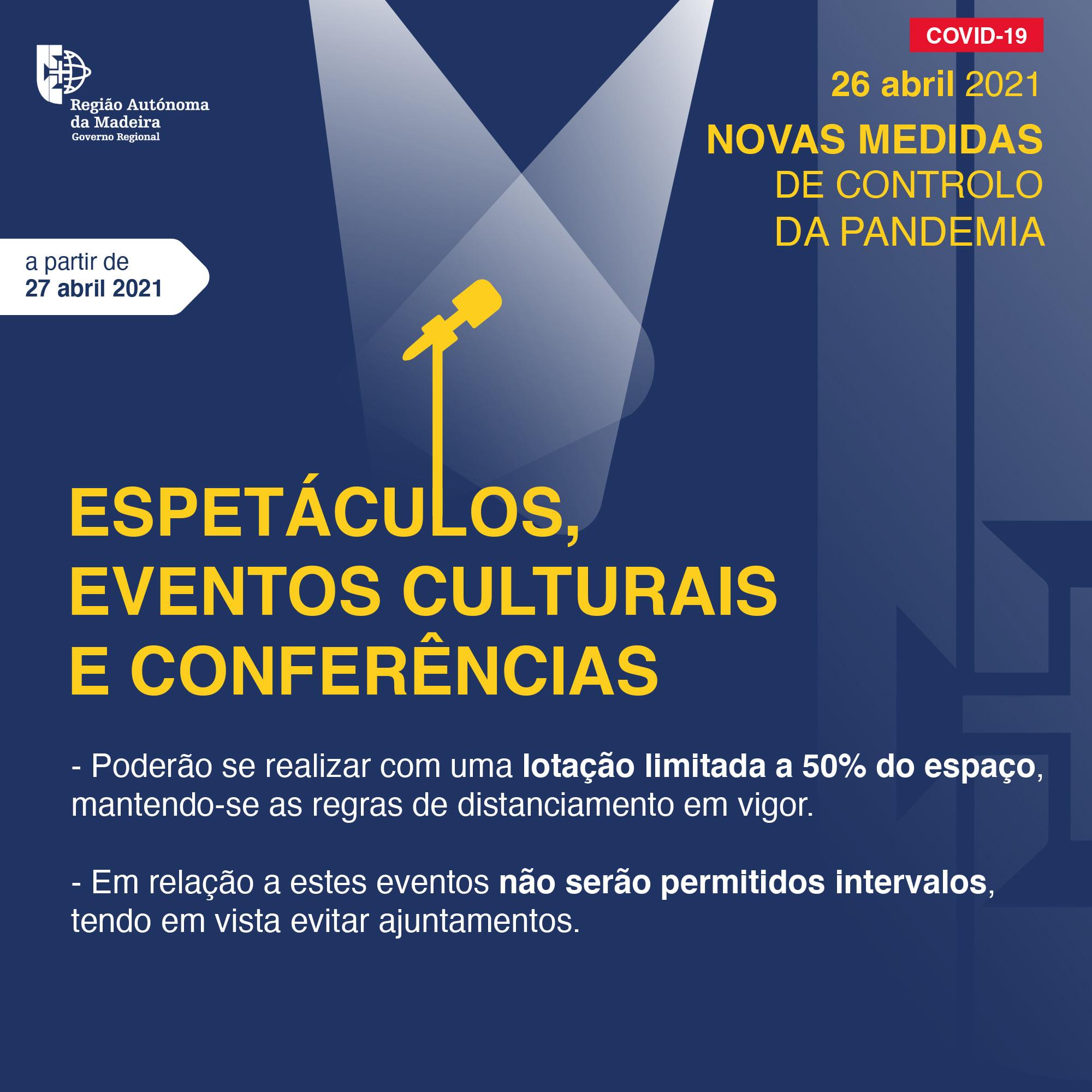 Espetáculos, Eventos Culturais e Conferências