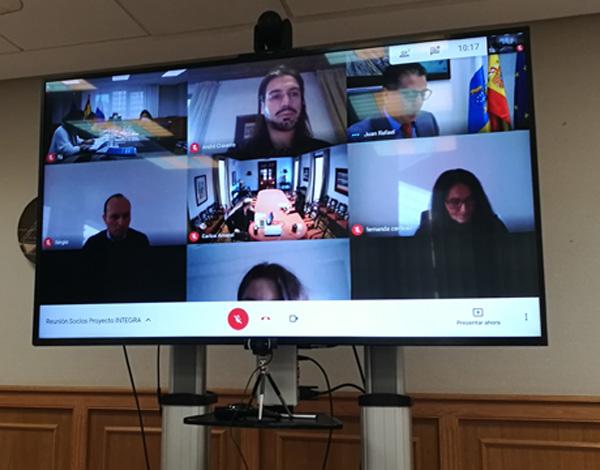 Reunião de sócios do Projeto INTEGRA