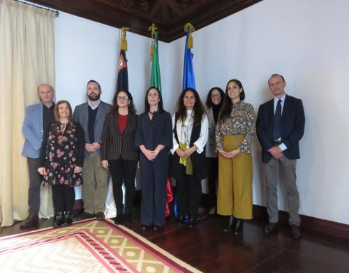 Reunião de Coordenação do Projeto HEXAGONE