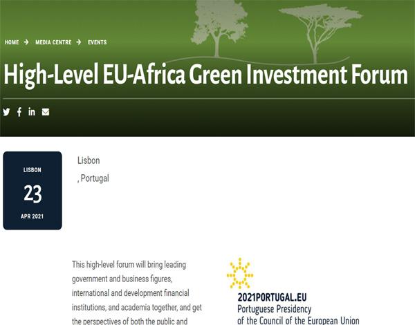 High-Level EU-Africa Green Investment Forum