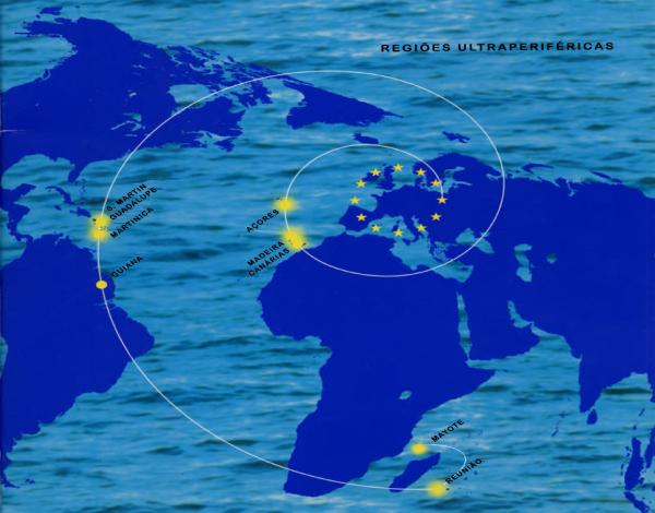 """Nova Comunicação """"Uma parceria estratégica reforçada e renovada com as regiões ultraperiféricas da UE"""""""