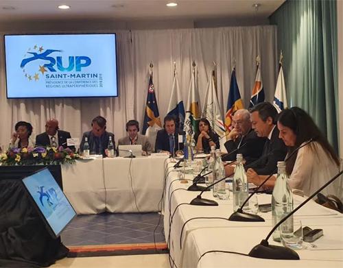 Pedro Calado na reunião das RUP reinvindica manutenção de apoios europeus com a taxa de 85%