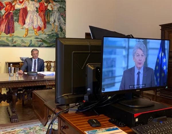 Pedro Calado insiste em compromisso sério e eficaz para as ajudas da UE