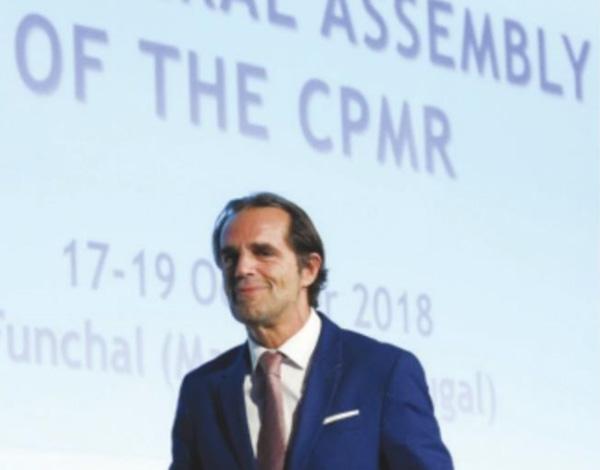 Albuquerque representa Portugal no Bureau Político da CRMP