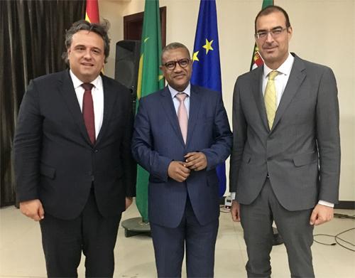 Madeira tenta cativar parceiros da Mauritânia