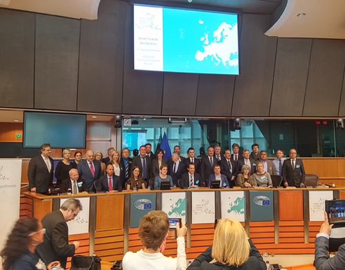 """Madeira subscreve em Bruxelas declaração """"Smart Islands"""""""