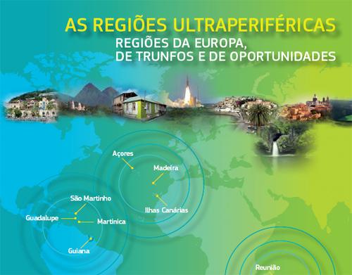 As regiões ultraperiféricas Regiões da Europa, trunfos e oportunidades