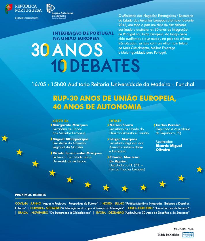 RUP-30 Anos de União Europeia, 40 Anos de Autonomia