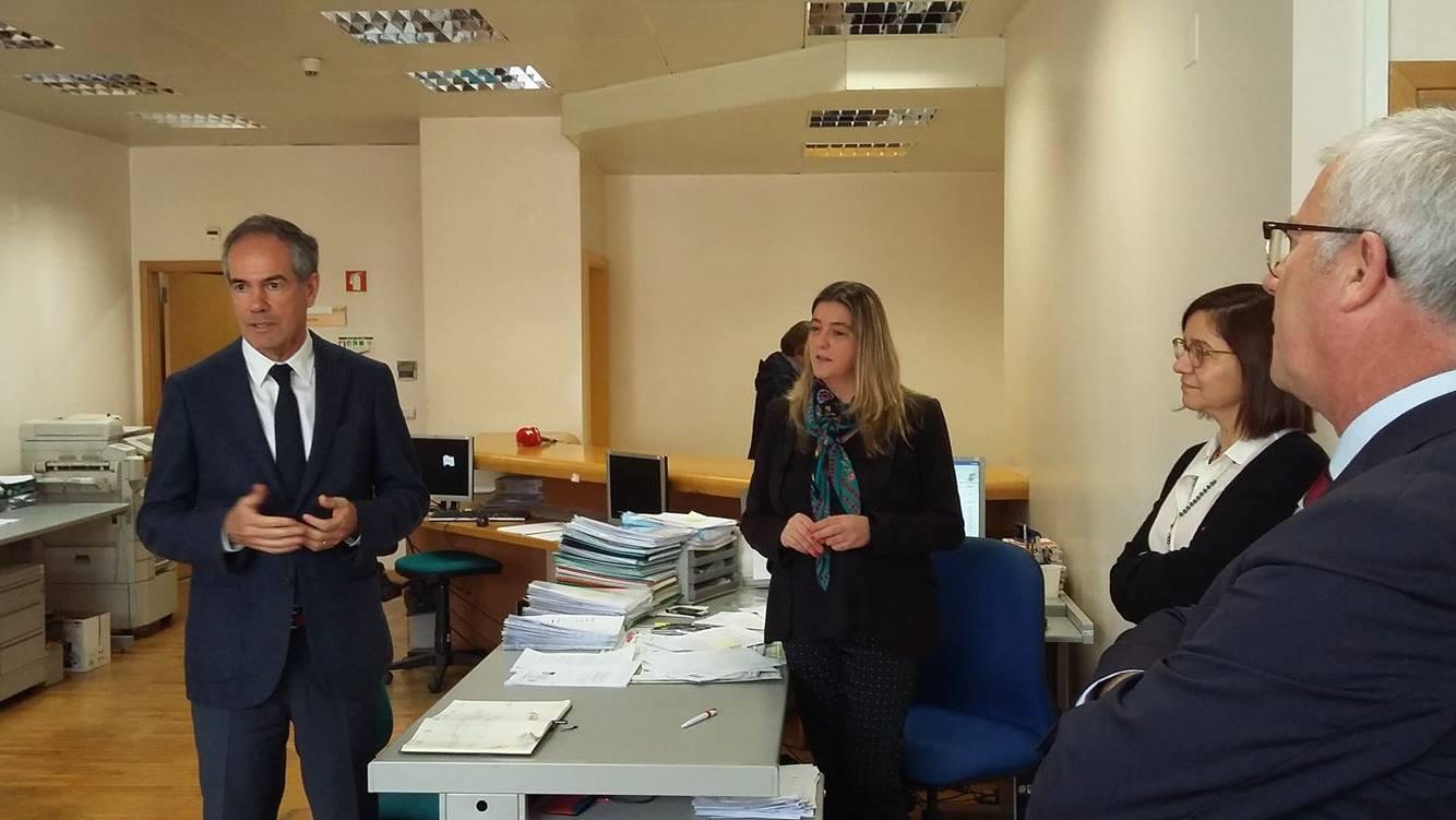 SRAPE visita Balcão Casa Pronta da Conservatória do Registo Predial do Funchal